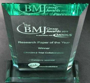 Bmj research paper of the year